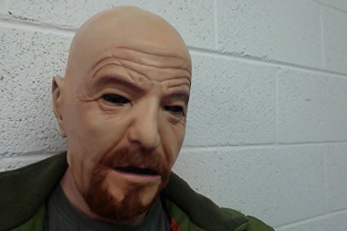 WALTER WHITE masque latex cosplay déguisement neuf