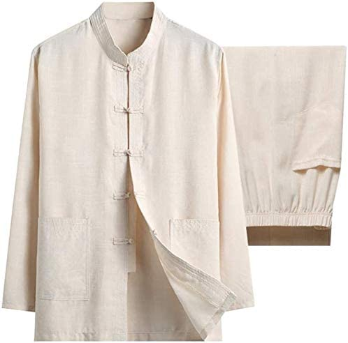 ZIJIAGE Cotton Linen Tai Chi Set for We OFFer at cheap prices At the price of surprise Chinese Two - Mi Pieces Men