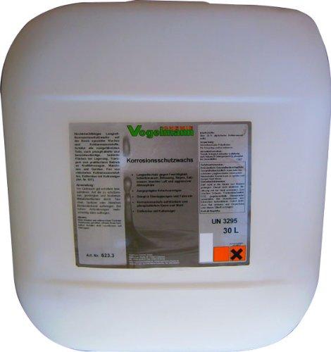 Vogelmann Chemie GmbH 20 l Korrosionsschutzwachs Rostschutz Konservierungswachs Korrosionsschutz