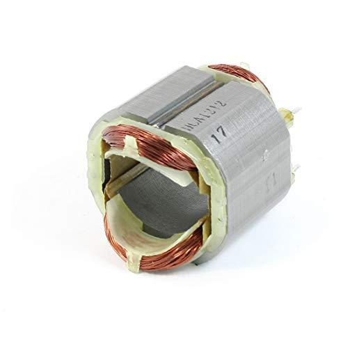 X-DREE Estator del motor eléctrico de los pernos del acero inoxidable 4 de AC220V para el martillo de for bosch 2-26 (Stator de moteur électrique à 4 broches en acier inoxydable AC220V pour marteau fo