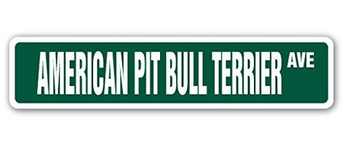 SignMission American Pit Bull Terrier Schild Hund Pitbull Groomer Vet Tierarzt-| | 45,7cm Breit
