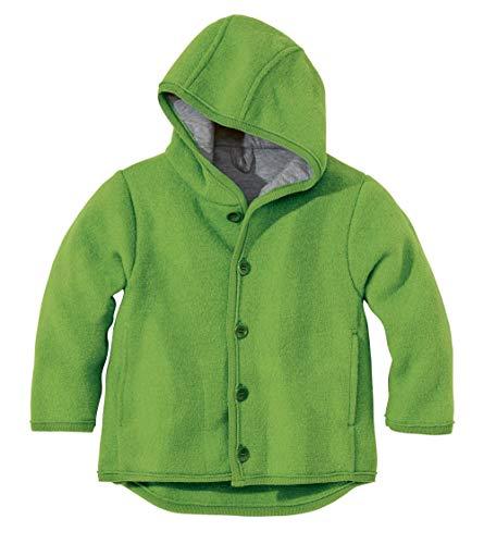 Disana 32309XX - Walk-Jacke Wolle grün, Size / Größe:62/68 (3-6 Monate)