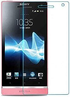 جراب هاتف - واقي للشاشة من الزجاج المقوى لهاتف Sony Xperia S/Xperia Arc HD LT26 LT26i/SL LT26ii 4.3 بوصة