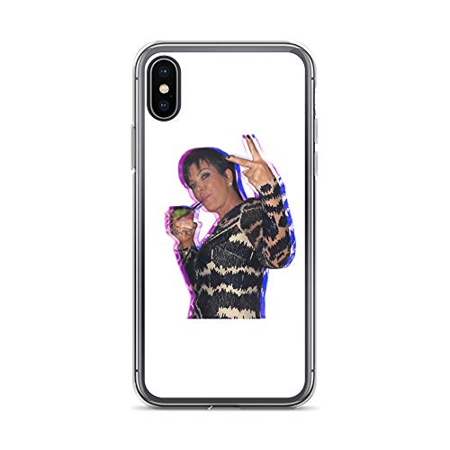 iPhone 7 Plus/8 Plus Pure Clear Case Cases Cover Kris Jenner Sticker