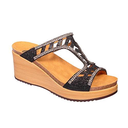 Scholl Damen Sandaletten Elettra