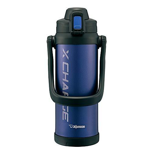 象印 (ZOJIRUSHI) 水筒 直飲み スポーツタイプ ステンレスジャグボトル 2.06L ネイビー SD-BD20-AD