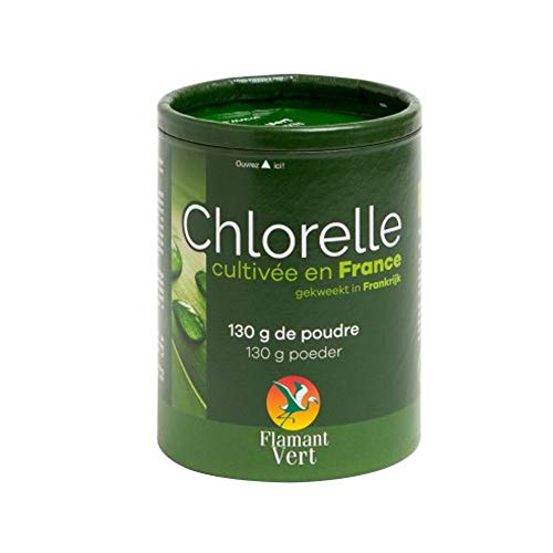 Flamant Vert - Chlorelle Cultivee En France Poudre 130g Flamant Vert