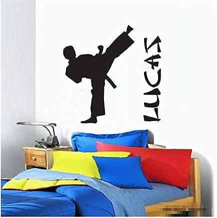 esTaekwondo Niño De Pinturas Pared Pegatinas Amazon XikPZu