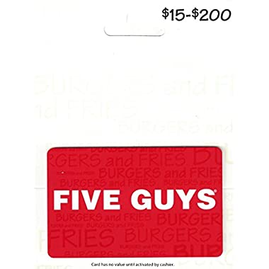 Five Guys Gift Card $50