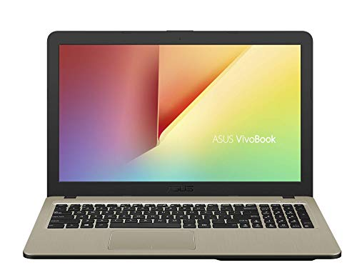 "ASUS VivoBook X540BA-GQ311T - Ordenador portátil de 15.6"" (AMD Dual-Core A6-9225 APU, 4 GB RAM, 256 GB SSD, AMD Radeon R4, Windows 10 Home) Oro - Teclado QWERTY Español"