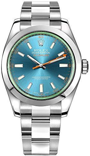 Rolex Milgauss 116400GV Z-Blue dial Stainless...
