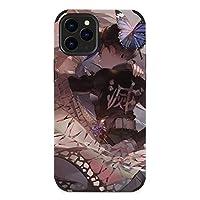 きめつのやいば iPhone 12 / iPhone 12 Pro/iPhone mini/iPhone 12 Pro MAX 用携帯電話ケース 保護