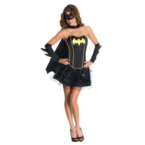 Rubies 3 880557- Costume per travestimento da Batgirl, per adulti, Taglia: M