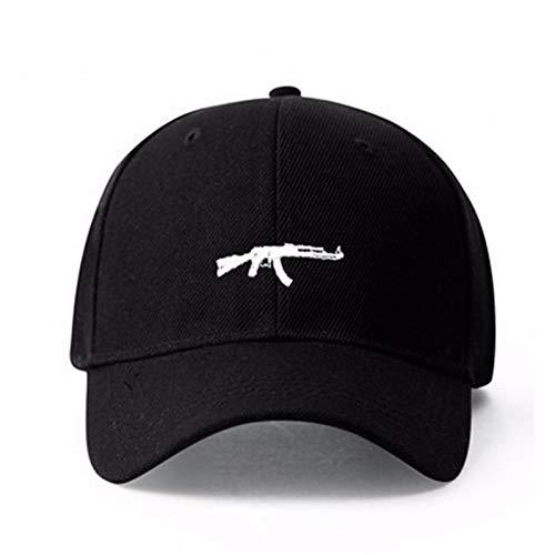 FXSYL Baseball Cap Baseballmütze-Skateboard-Hysteresen-Markennamen-Golf-Hüte für Mann-Frauen-Sport-Hip Hop-Knochen,C1