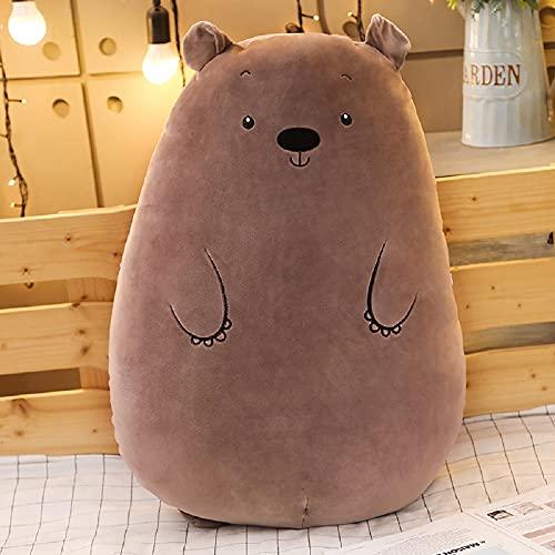 Peluche oso lindo suave almohada grande 70cm, regalo de cumpleaños para niños y niñas-Baby Playmate-Decoración del hogar
