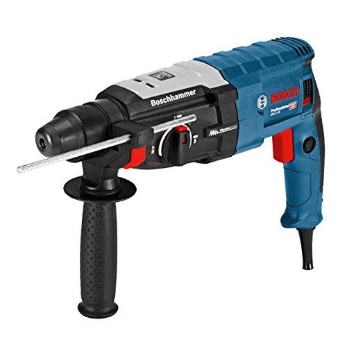 Bosch Professional Bohrhammer GBH 2-28 (880 Watt, mit SDS-plus Aufnahme, bis 28 mm Bohr-Ø, Rückschlag-Schutz, L-Boxx Systemkoffer, ohne Schnellspann-Bohrfutter)