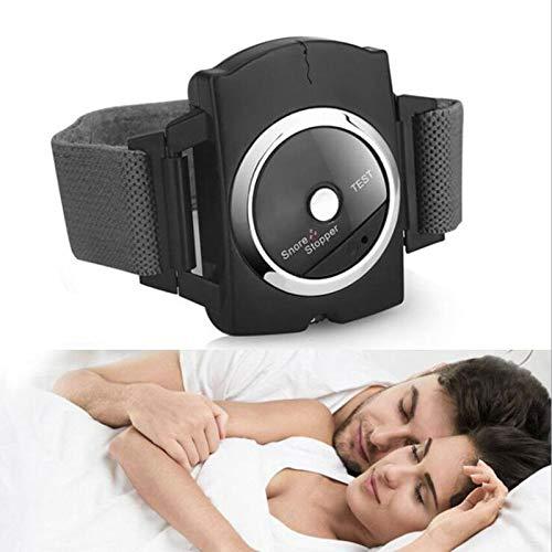 LLSL Dispositivos Antideslizantes, conexión de sueño Pulsera Snore Stop/Smart Watch Dispositivo/Sueño Toca solución/Banda de muñeca de cese de ronzo/para un Buen sueño y Mujeres