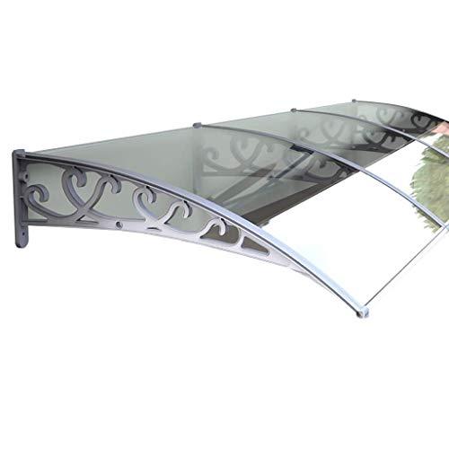 WXQ Eingangstür EIN Überdach Vordach Türdach for Draußen Pultbogenvordach Überdachung Haustür Balkon Garage Usw. Gute Witterungsbeständigkeit Regen Vermeiden Einfach Zu Säubern