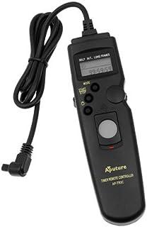 Aputure remoto del temporizador del obturador 3C para Canon EOS 1D 1Ds Mark II III Mark III IV 1DC 1DX D30 D60 10D 20D 20DA 30D 40D 50D 5D 5D Mark II III 7D