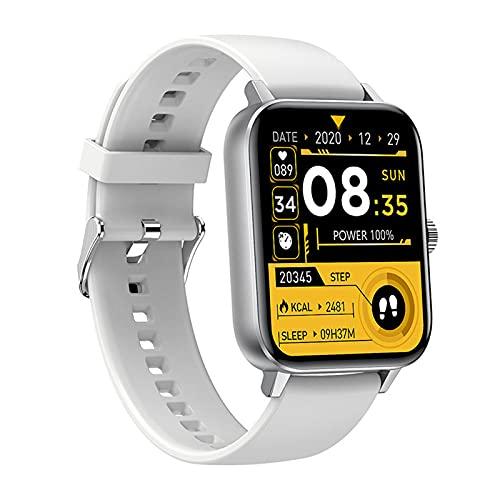 Anyer Smart Watch Fitness Watch con monitoreo del sueño de Ritmo cardíaco, múltiples Modos de Deportes, Reloj Deportivo IP68 Natación Control de música a Prueba de Agua, 30 días de Vida útil,Negro