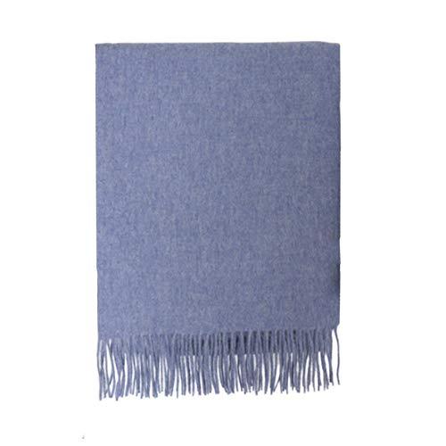 TIANPIN liefhebbers unisex sjaal Pashmina sjaal wrap super zachte sjaal kasjmier sjaal Solid Color sjaal - All Seasons (200 * 70cm)