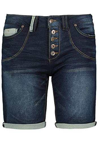 Urban Surface Bermuda di Jeans da Donna | Pantaloni Corti in Denim per l'Estate Blu Scuro M