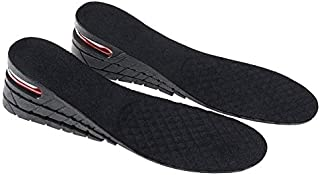 Height Increase Insole, 3-Layer Air up Height Increase Elevator Shoes Insole, adjustable Shoes Pad Heels Inserts for Men, ...