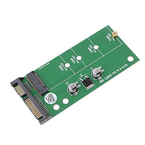 Tuneway Ngff (M2) Ssd A 2,5 Pulgadas Sata Adaptador M.2 Ngff Ssd A Sata3 Convertir Tarjeta para 30/42/60 / 80Mm M.2 Ssd Disco Duro