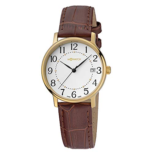 M WATCH Swiss Made Timeless Elegance Orologio da uomo/donna, Quadrante...