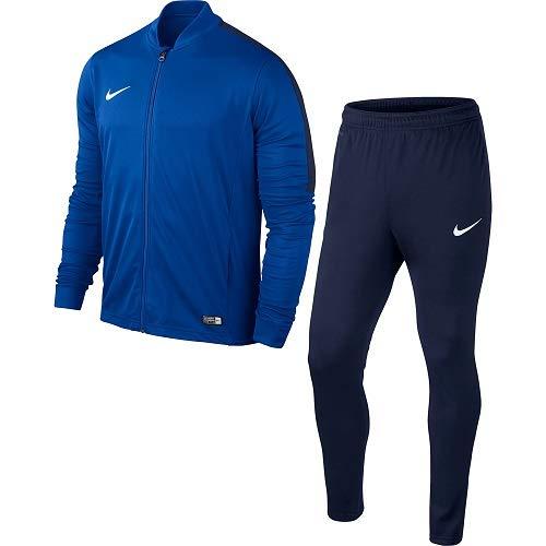 Nike Academy16 Yth Knt Tracksuit 2, Tuta sportiva Ragazzo, Multicolore (Blu/Nero/Bianco), M