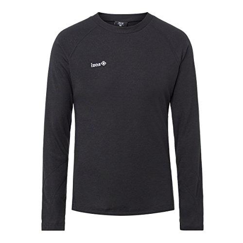Izas Nelion Camiseta térmica, Hombre, Negro, M