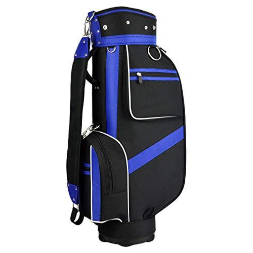 Golf Stand Golf Bag Walking-Golftasche, Ultraleicht Perfekt zum Tragen auf dem Golfplatz. Mit Zwei Gurten zum einfachen Tragen der Golftasche