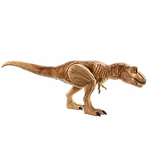 Jurassic World- T-Rex Ruggito Epico, Tirannosauro...