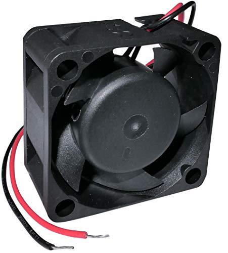 AERZETIX - Ventilador Axial de Refrigeración - para Caja de Ordenador PC - Vapo - Termoplástico - 12V DC - 40x40x20mm – 18.25m3/h - 8000rpm - 0.08A -0.96W - 27.5dBA - C46935