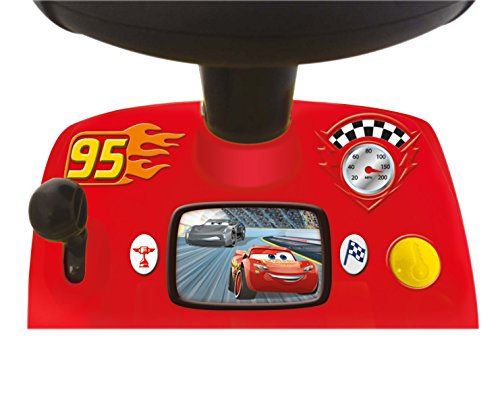 Kiddieland Toys Limited My Lightning McQueen Racer Ride On,Multi