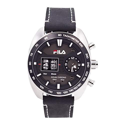Fila 38-846 - Reloj de Pulsera para Hombre (Piel, 45 mm)