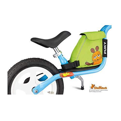Puky LRT Kinderloopfietstas met draagriem De muis groen