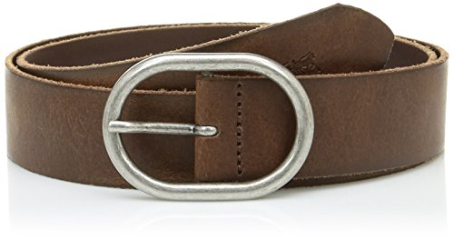 Levi's Circle Buckle Core, Cinturón Mujer, Marrón (Brown), 85 cm (Talla del fabricante: 85)