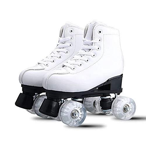 Rollschuhe Zweireihige Größe Kinder Anfänger Junge Mädchen Allrad Skating Erwachsene Teenager Skating Schuhe Für Kinder Und Erwachsene
