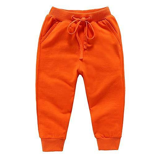 Nouveau Style Mode Bébé Garçons Et Filles Pantalon Pure Couleur pour Enfants Pantalon Long Pantalon Décontracté Pantalon De Survêtement