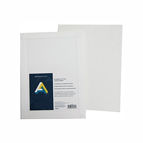 Art Alternatives Canvas Panel 14X18 Inches Pack of 12
