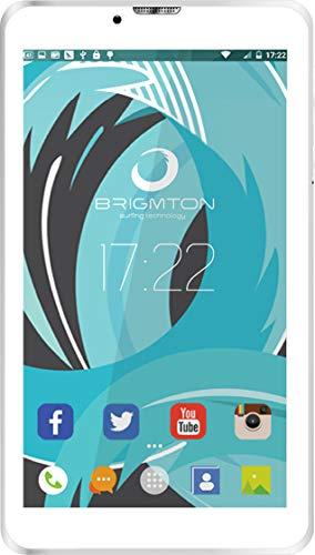 "Brigmton btpc-ph6Bianco tablet 3G Dual Sim 7"" IPS HD/4Core/8GB/1GB RAM/2MP"