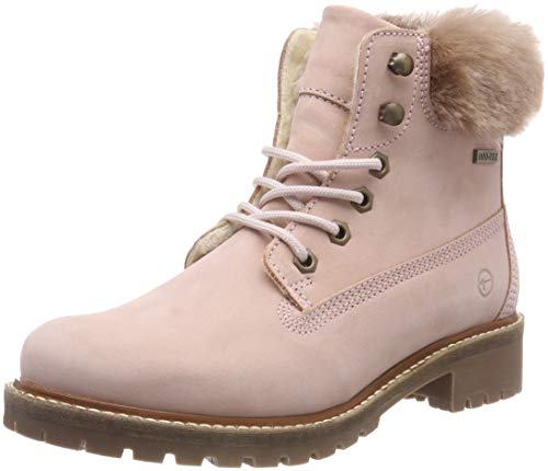 Tamaris Damen 26294-21 Schneestiefel, Pink (Light Pink Fur 564), 38 EU
