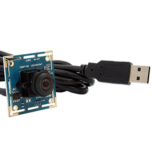 ELP 720P HD USB Webcam Weitwinkel Cam M12 Fischaugen-objektiv CMOS Kamera Modul für Industrielle Maschine Vision,USB 2.0 170 Grad Objektiv Web Kamera USB100W05MT-L170