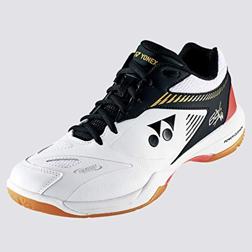 YONEX Power Cushion Badminton-Schuhe, 65 x 2 cm, Weiß / Schwarz