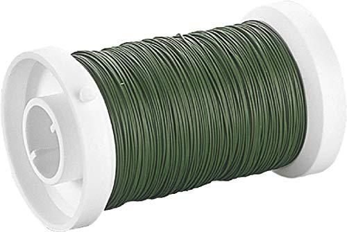 KnorrPrandell Gütermann 6467474 - Filo Metallico per Fiori 0,35mm, Colore: Verde Muschio