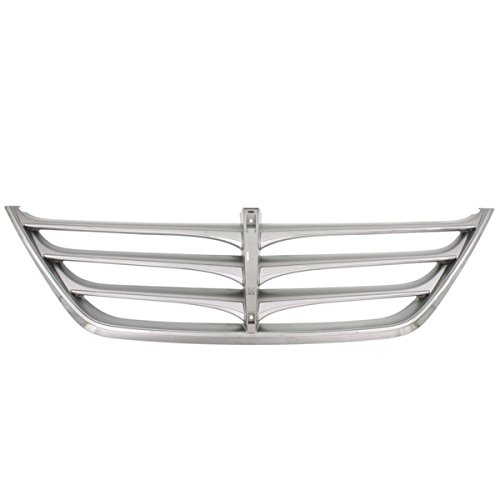 Partomotive For Front Grill Grille Assembly Chrome HY1200167 863513M110 09-10 Genesis Sedan