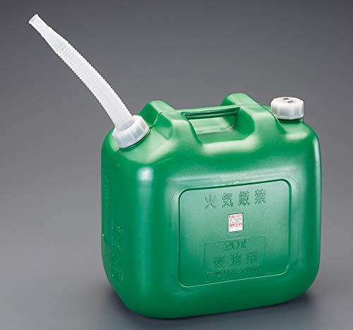 エスコ(ESCO) ポリ軽油缶 20L EA991HA-11
