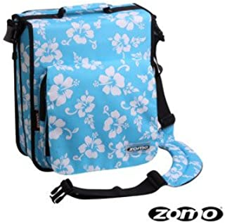 Zomo Pochette CD LARGE PREM blue flower