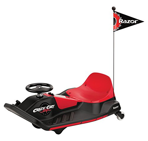Razor Crazy Cart Shift Noir et Rouge
